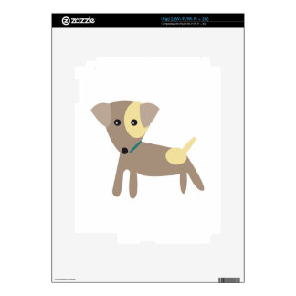 Puppy Dog Decals For iPad 2