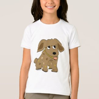 Brown Puppy Dog T-shirt