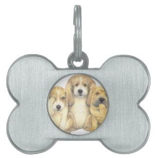 puppy dog tag