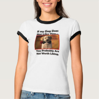 Puppy Dog with a rose, Lab puppy. T-Shirt