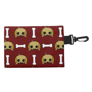 Puppy dog With Bone Patterned Accessory Bag