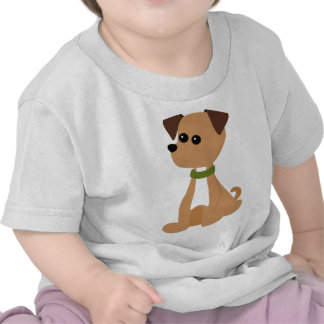 Puppy Doggie in Green Tees