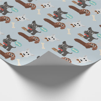 Puppy Dogs and Bones All Occasion Wrapping Paper