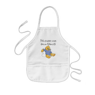 Puppy Dress Up Tshirts and Gifts Apron