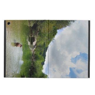Puppy Exploring Barton Creek - Austin Texas iPad Air Covers