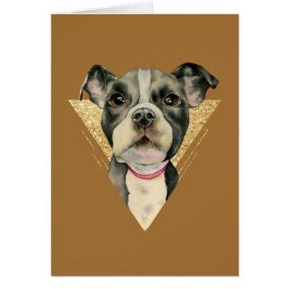 Puppy Eyes 3 Card
