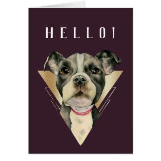 Puppy Eyes 4 Card