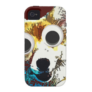 Puppy Eyes Vibe iPhone 4 Cases