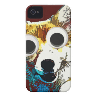Puppy Eyes iPhone 4 Cover
