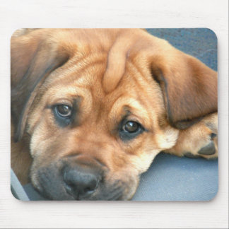 Puppy Eyes Mousepad