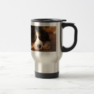 puppy eyes travel mug