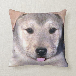 Puppy Face Accent Pillow