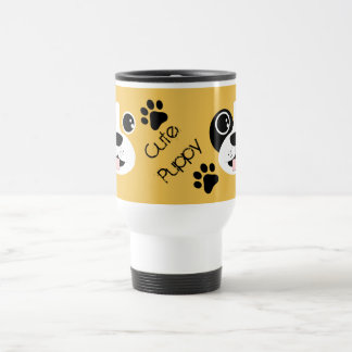 Puppy Face Travel Mug