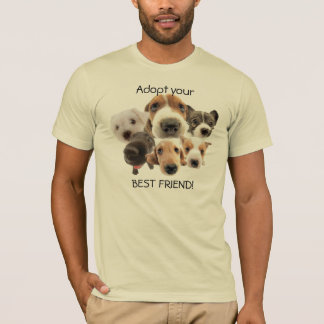 Puppy Faces Adopt T-Shirt
