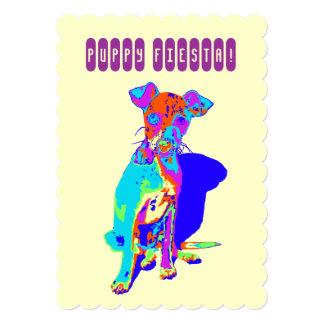 Puppy Fiesta! Card