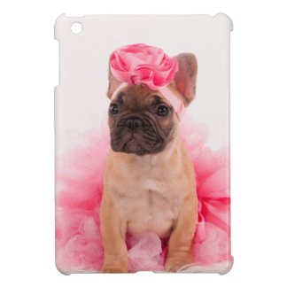 Puppy french bulldog disguised iPad mini cases