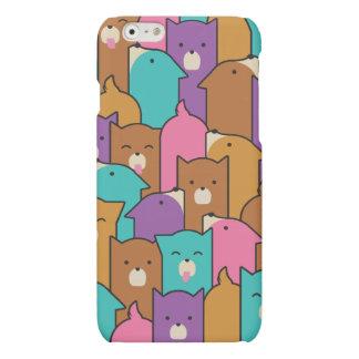 Puppy Friends - Gumdrop Matte iPhone 6 Case