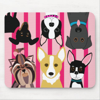 Puppy Fun Mouse Pad