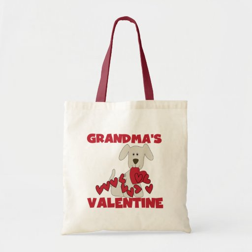 Puppy Grandma's Valentine T-shirts and Gifts Bag