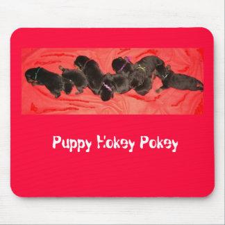 Puppy Hokey Pokey Mouse Pad