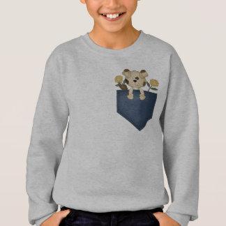 Puppy In A Pocket Sweatshirt