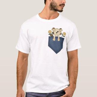 Puppy In A Pocket T-Shirt