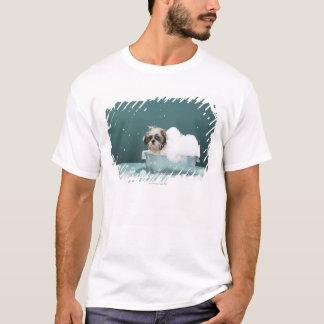 Puppy in foam bath T-Shirt