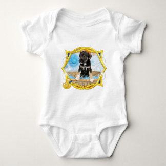 Puppy - Jack Russell Baby Bodysuit