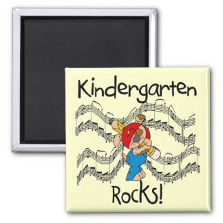 Puppy Kindergarten Rocks Tshirts and Gifts Magnet