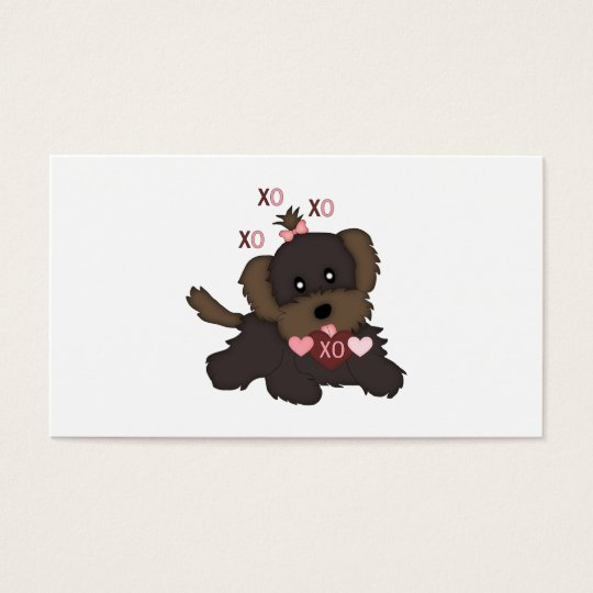 Puppy Kisses Business Card