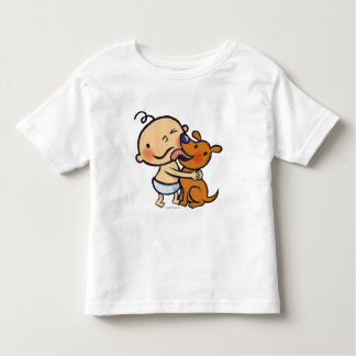 Puppy Kisses for the Baby Toddler T-shirt