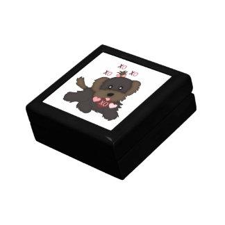 Puppy Kisses Keepsake Box