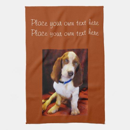 Puppy Kitchen towel