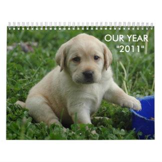 "puppy-lab-HD-wallpaper,  OUR YEAR    ""2011"" Calendar"