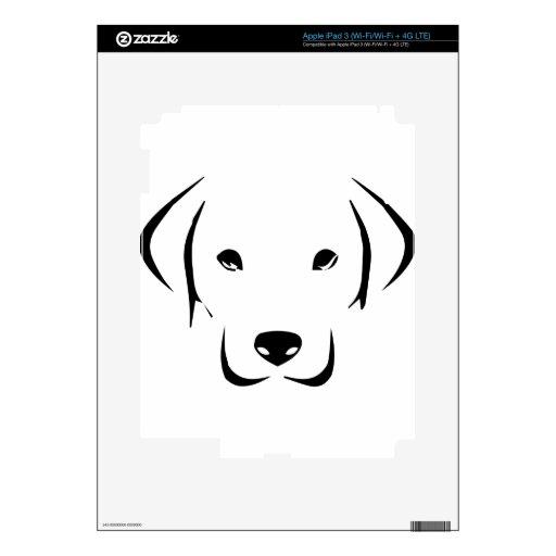 Puppy Labrador Skins For iPad 3