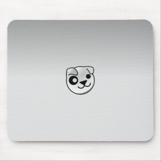 Puppy Linux Grey Mouse Pad