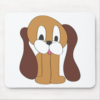 PUPPY LONG EARS MOUSE PAD