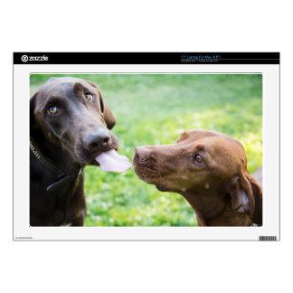 """Puppy love 17"""" laptop skin"""