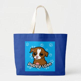 Puppy Love Canvas Bag