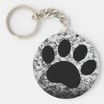 puppy love basic round button keychain