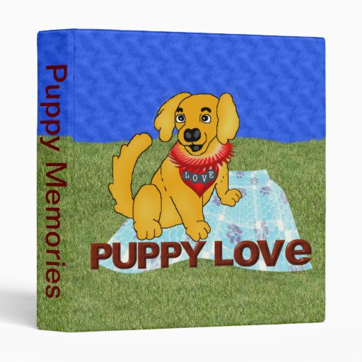 Puppy Love Binders