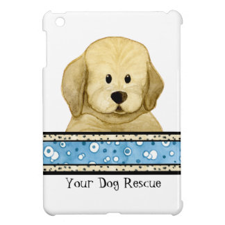 Puppy Love Brown Dog Paws Doggy Rescue Group iPad Mini Cover
