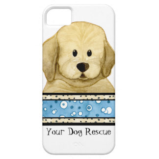 Puppy Love Brown Dog Paws Doggy Rescue Group iPhone SE/5/5s Case