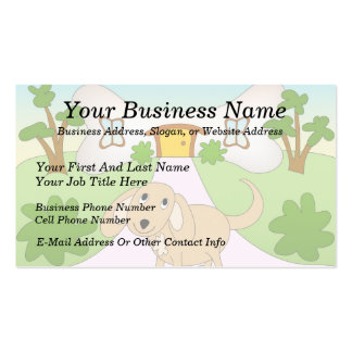 Puppy Love Double-Sided Standard Business Cards (Pack Of 100)