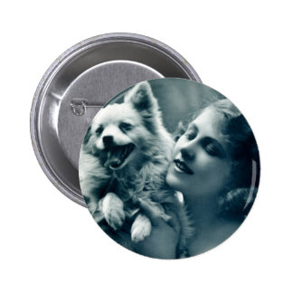 Puppy Love Pinback Button
