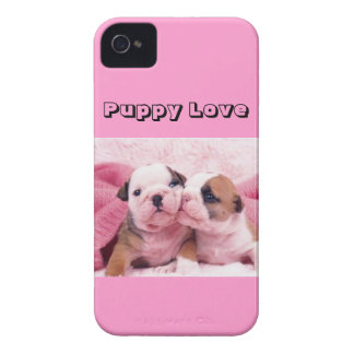"""""""Puppy Love"""" iPhone 4 Cover"""