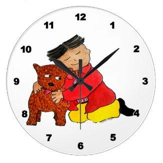 Puppy Love Clock