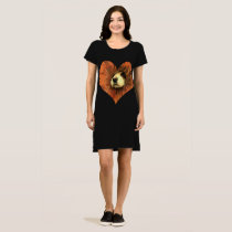 Puppy Love Cocker Spaniel Tunic Dress T-shirts