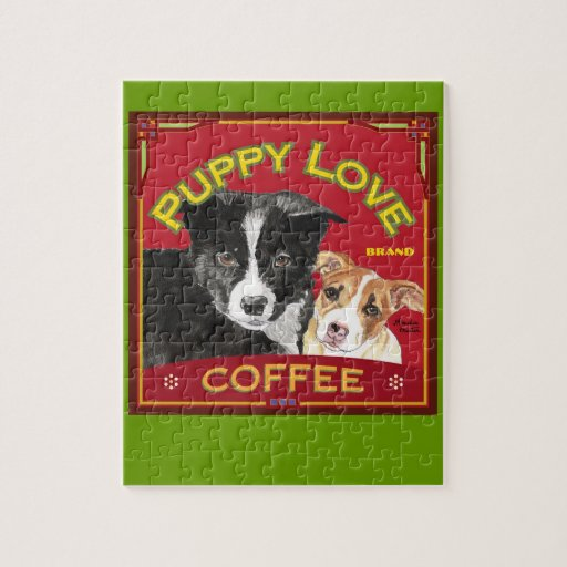 Puppy Love Coffee Puzzles