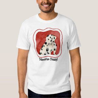 """Puppy Love,"" Dalmatian Puppy Art by Audrey Jeanne T Shirt"